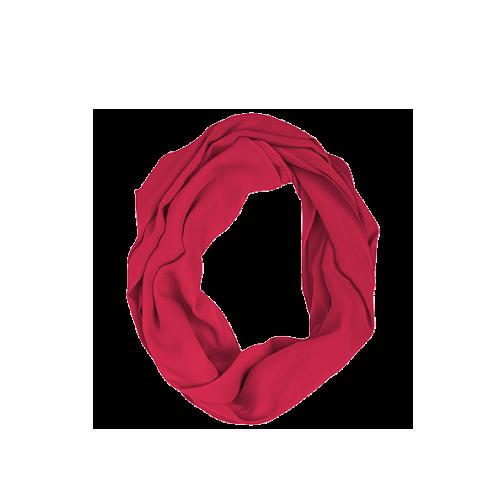 KUSHIES Peekaboob Infinity 竹棉授乳餵奶圍巾 紫紅色