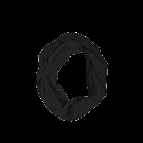 KUSHIES Peekaboob Infinity 竹棉授乳餵奶圍巾 黑色