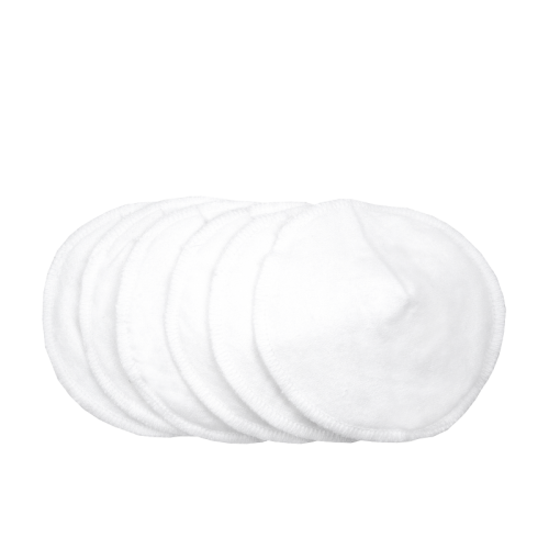 KUSHIES 純棉可洗乳墊 6片裝